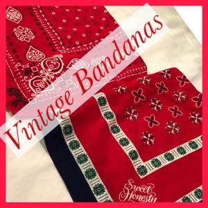 Bandanna's vintage